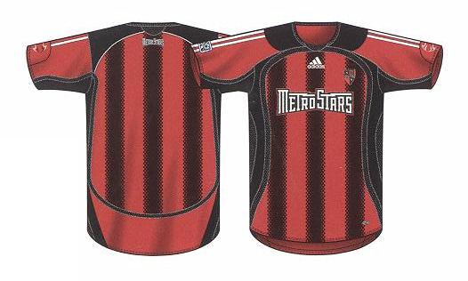 premium selection 145a4 de8d7 2006 jerseys revealed - MetroStars / Red Bull New York ...